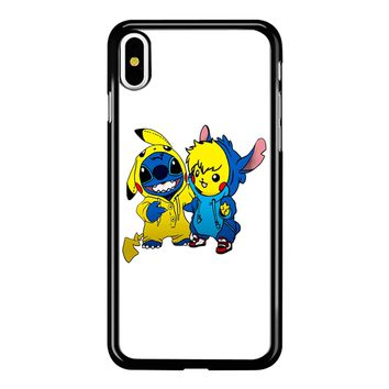 Pikachu Stitch  iPhone X Case