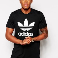 Adidas Originals | Adidas Originals Logo T-Shirt at ASOS