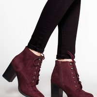 Cloud Nine Booties - Wine