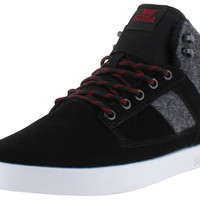 Supra Bandit Men's Mid Skate Sneakers Shoes Wool