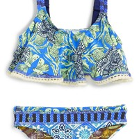 Maaji 'Hello Adventure' Two-Piece Swimsuit (Big Girls) | Nordstrom