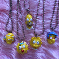 SIMPSONS NECKLACE