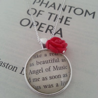 Phantom of the Opera Angel of Music Necklace