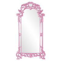 Howard Elliott Collection 92024PP Imperial Pale Pink Rectangle Mirror
