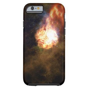 Fireball in Space Tough iPhone 6 Case