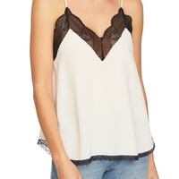 1.STATE Lace Trim Racerback Cami | Nordstrom