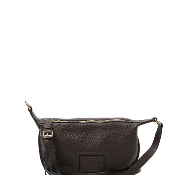 See by Chloe Women's Small Buckle & Tassel Pull Leather Crossbody - Grey