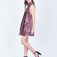 Velvet Crush Party Dress