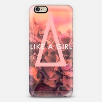 LIKE A GIRL iPhone 6 case by Sandra Arduini | Casetify