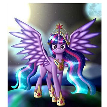 5D Diamond Painting My Little Pony Twilight Sparkle Kit