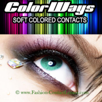 Aqua Colorways Contact Lenses for best eye color change