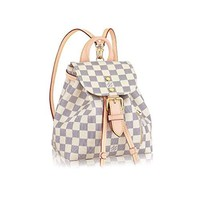 Louis Vuitton Damier Azur Mini Backpack Sperone BB Handbag Article: N44026 Made in France