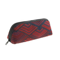 J.Crew Womens Woven Pencil Pouch