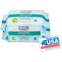 Walmart: Equate Exfoliating Cleansing Towelettes 120 CT
