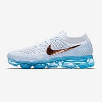 Best Deal Online 2018 Nike Air Max VaporMax Flyknit White Blue Men Women Running Shoes