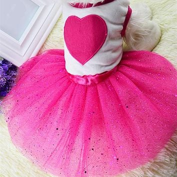 Summer Princess Dog Dress Wedding Puppy Skirt Pet Cat Clothes for Small Medium Dog Teddy Yorkie Puppy Clothing Pet Apparel 30