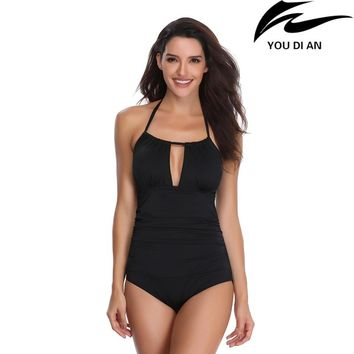 2018 plus size swimwear one piece swimsuit Russian swim suit USA swimming bathing beachwear suit L to 4XL size
