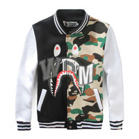 On Sale Hot Deal Sports Jacket Men's Fashion Autumn Men Camouflage Baseball [10779768263]