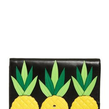 Kate Spade New York Wing It Pineapple Tally Clutch