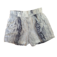 S.Y.L.K. Silk Snake Print Alexa Pleated Dress Shorts