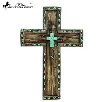 Montana West Nail Resin Texture Wall Cross