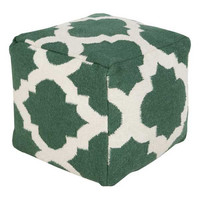 Virginia Pouf SEA GREEN