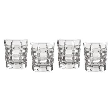Marquis by Waterford Crystal Crosby 4-pc. Double-Old Fashioned Glass Set (Clear)