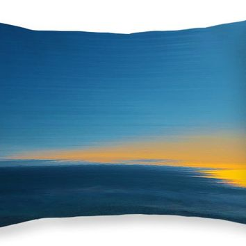 "Seascape At Sunset Throw Pillow for Sale by Ben and Raisa Gertsberg - 20"" x 14"""