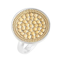 Women's Anna Beck 'Gili' Flat Disc Ring - Gold/ Silver (Nordstrom Online Exclusive)