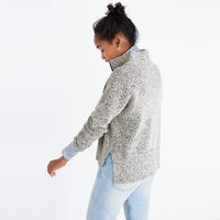 Marled Half-Zip Sweater