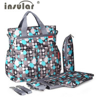 Insular Diaper Bag for Baby Stroller
