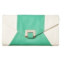 Moda Luxe Cory Clutch - Bone/Mint