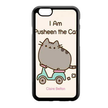 i'm Pusheen The Cat Book iPhone 6 Case