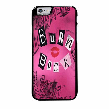 burn book mean girls iphone 6 plus 6s plus 4 4s 5 5s 5c 6 6s cases