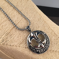 Jewelry Shiny Gift New Arrival Korean Casual Fashion Club Accessory Stylish Decoration Stainless Steel Necklace [6542787011]