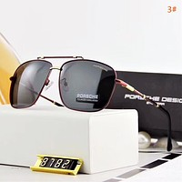 Porsche Men Fashion New Polarized Business Casual Sunscreen Glasses Eyeglasses