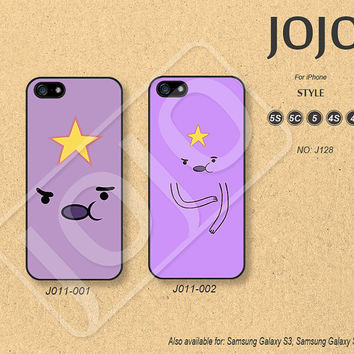 iPhone 5 Case, iPhone 5c Case, iPhone 4 Case, iPhone 5s Case, iPhone 4s Case, Disney Adventure time, Phone Cases, Phone Covers - J011