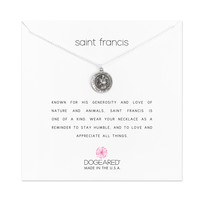 Saint Francis Necklace, Sterling Silver | Dogeared