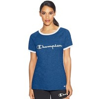 Women's Champion Ringer Graphic Tee | null