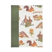 Baby  Keepsake Memory Book Back to Nature