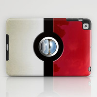 Retro Chrome pokemon pikachu pokeball apple iPad 2, 3 and iPad mini Case