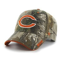 NFL Chicago Bears '47 Frost MVP Camo Adjustable Hat, One Size Fits Most, Realtree Camouflage