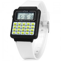 Children Calculator Watch with Electronic Digital Indicate and Rubber Band