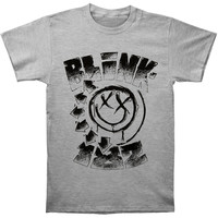 Blink 182 Men's  Stipled T-shirt Heather