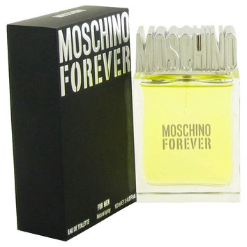 Moschino Forever by Moschino Gift Set -- 3.4 oz eau De Toilette Spray + 3.4 oz Shower Gel + Wallet