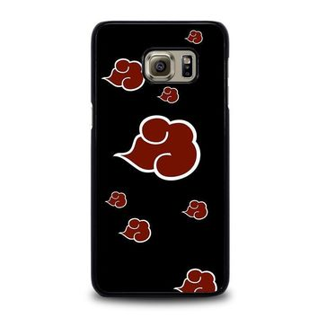 naruto akatsuki clouds samsung galaxy s6 edge plus case cover  number 1