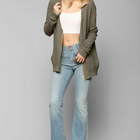Dittos Braided High-Rise Flare Jean - Urban Outfitters