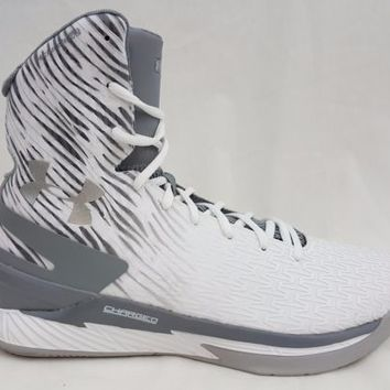 Under Armour Clutchfit Drive Highlight 2 White Gray Size 11.5 1267779 100 Curry