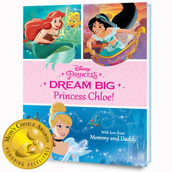 Disney's Dream Big, Princess Personalized Book – Paperback Edition | Put Me In The Story