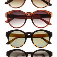 Oversized Rounded Sunglasses - Black, Brown, Black/Tortoise or Tortoise